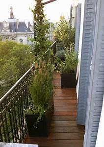 Amenager Petit Balcon Appartement : am nagement d coration balcon filant balcon pinterest ~ Zukunftsfamilie.com Idées de Décoration