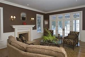 Homeowner selected paint color sherwin williams sturdy for Interior paint colors browns