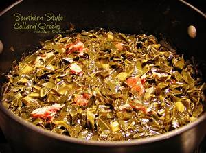 Southern Style Collard Greens Recipe Just A Pinch Recipes