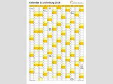 Feiertage 2018 Brandenburg + Kalender