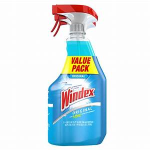 Windex Original Glass Cleaner Twin Pack  26 Oz - Walmart Com