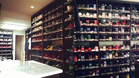 Lebron Shoe Closet by Allen S Shoe Closet