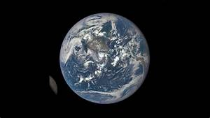Earth and the far side of the Moon seen by DSCOVR ...