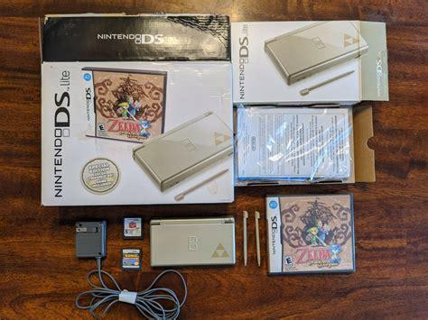 The legend of zelda phantom hourglass nintendo ds lite xl 3ds ovp instrucciones cib. Nintendo DS Lite Zelda Edition with sealed Zelda Phantom ...