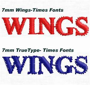 wings digitizing center authorized partner and training With digitizing small letters
