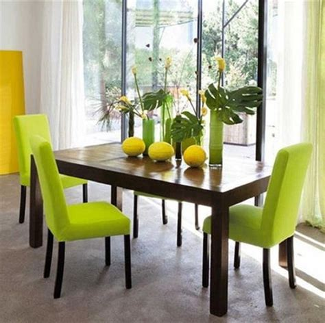 Green Dining Room Color For Cheery Ambiance  Actual Home