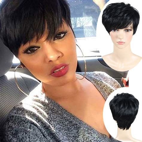 pixie cut wigs short wigs  black women african