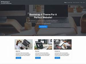 WP Bootstrap 4