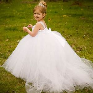 2015 white miniature bride flower girl dress with train With mini wedding dress for flower girl