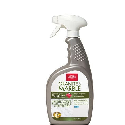 shop dupont 24 oz granite and marble sealer at lowes