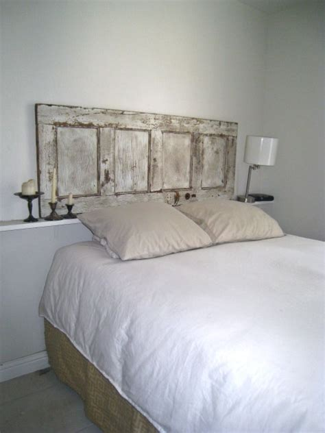 Using Doors As Headboards by 16 Awesome Headboard Ideas You Can Do By Yourself