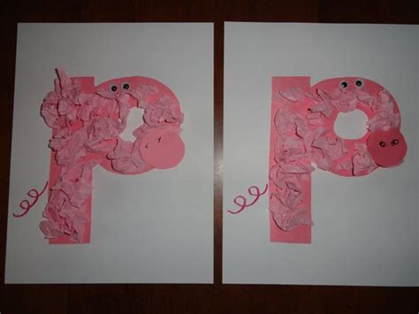 Letter Crafts, Pigs And Jolly Phonics On Pinterest