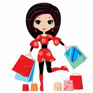 Ladies Shopping Clipart - Clipart Suggest