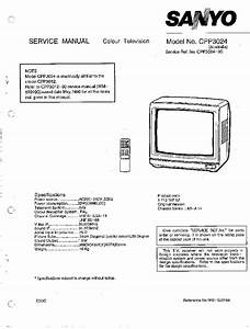Sanyo A3 Chassis Cpp3024 Tv Sm Service Manual Download