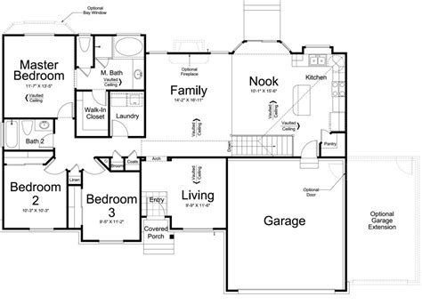 mapleton ivory homes floor plan main level ivory homes