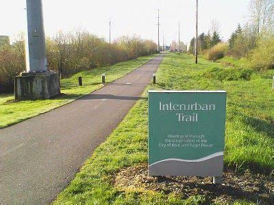 Great bike trails across america. The Interurban Trail stretches between Tukwila and Sumner.   Bike trails