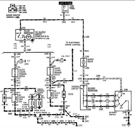 ac wiring diagram ford  forum