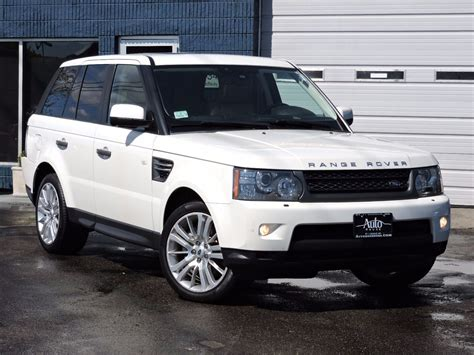 Used 2010 Land Rover Range Rover Sport Hse Lux At Saugus