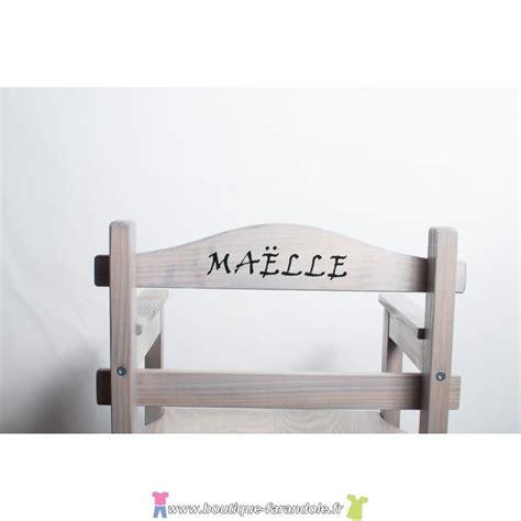 Chaise Enfant Personnalisable by Chaise Junior Chaises Hautes En Bois Chaise Haute En