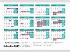 FERIEN SachsenAnhalt 2019 Ferienkalender & Übersicht