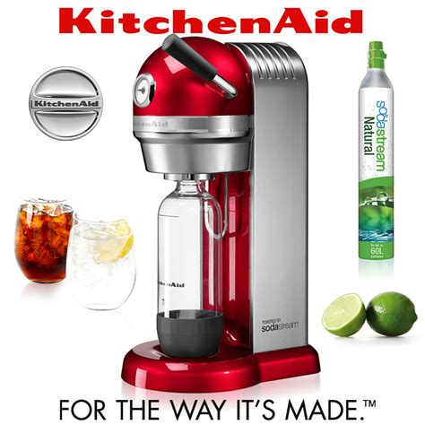 KitchenAid   Sparkling Beverage Maker   Candy Apple   Cookfunky