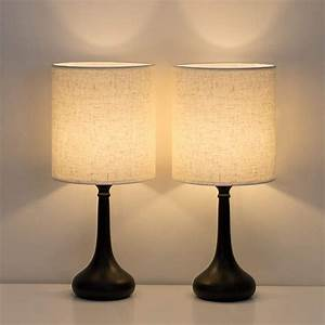 Haitral, Bedside, Table, Lamps, Set, Of, 2