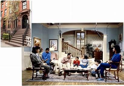 Cosby Bill Corcoran Houses Fair Sitcom Vanity