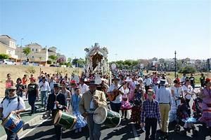 Todo listo para la salida del Rocío de Tomares hacia la Blanca Paloma este martes Ayuntamiento