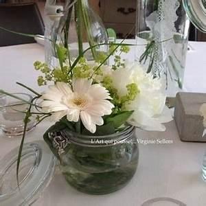 mariage boheme fleurs de jardin decoration With chambre bébé design avec composition fleur mariage