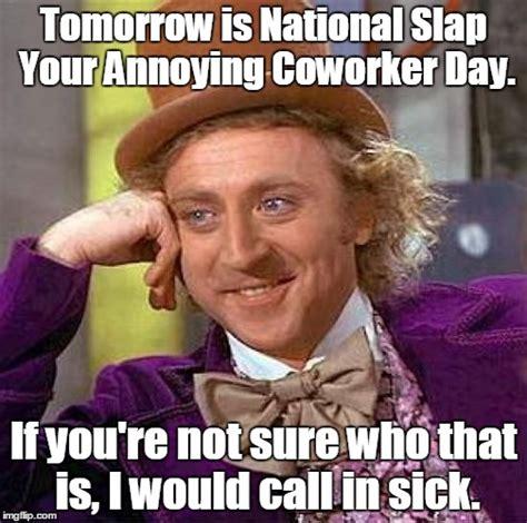 Slap Meme - creepy condescending wonka meme imgflip