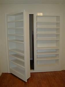 HIDDEN DOORS – Fiorenza Custom Woodworking