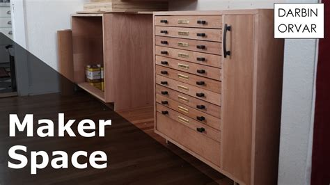 sliding drawers for kitchen cabinets cabinet w dovetail secret drawers makerspace part 3 7983
