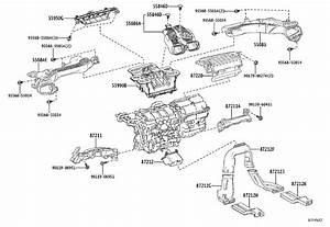 Toyota Corolla Windshield Defroster Nozzle  Air  Sensor
