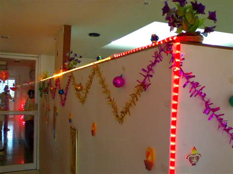 diwali  decoration ideas  home office diwali