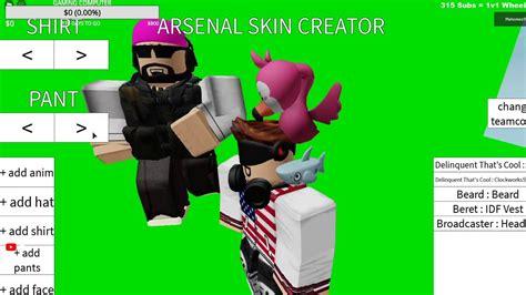 Top 10 rarest arsenal skins. CREATING A CUSTOM SKIN IN ROBLOX ARSENAL!!! - YouTube