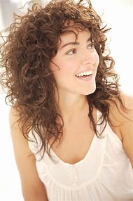 Long Hairstyles with Bangs Curly Hair