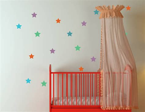 star wall sticker set contemporary wall stickers