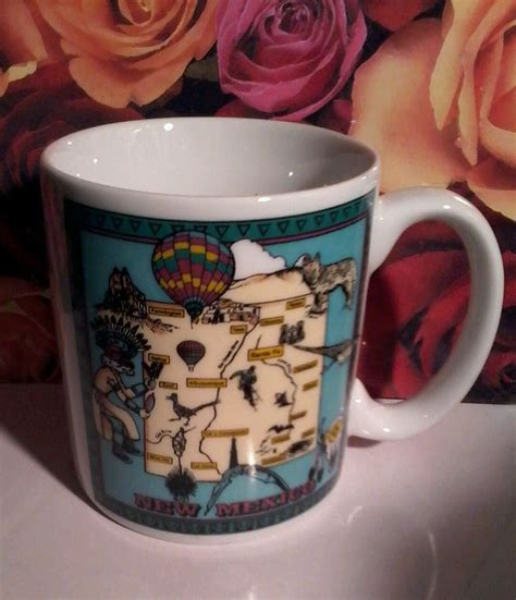 hobbs  mexico souvenir coffee mug nm map native