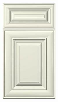kitchen cabinet doors cambridge door style :: painted :: antique white #kitchen ...
