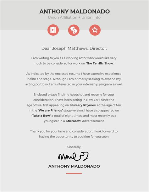 Cover Letter Template by 10 Cover Letter Templates And Expert Design Tips To