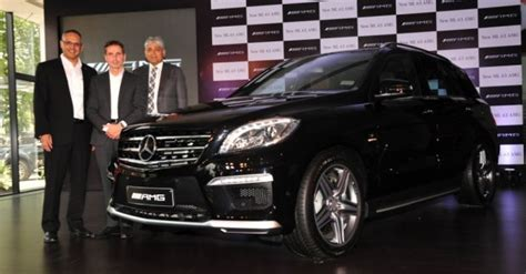 mercedes ml  amg launched  rs  crore