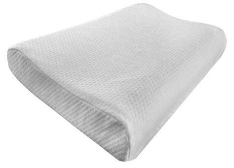 Contour Memory Foam Pillow By Elite Rest Best Neck Pain
