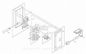 Generac 4583 Parts Diagram For Manual Switch With Load Center