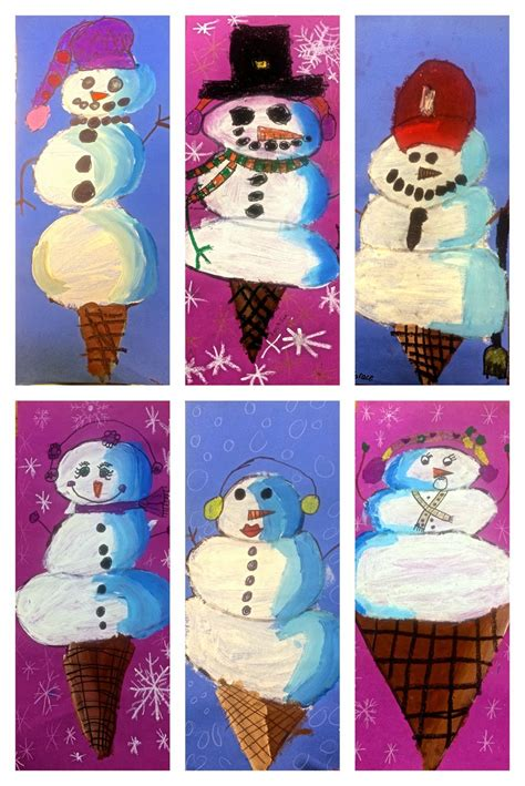 art eat tie dye repeat  grade snowman scoops