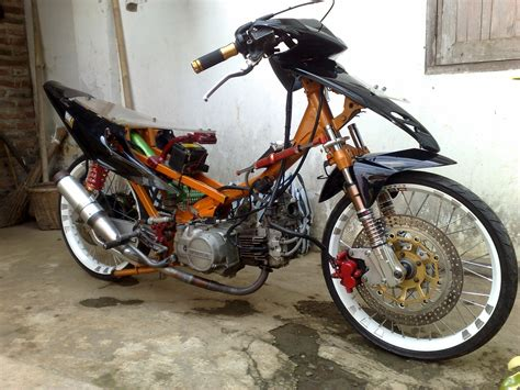 Modifikasi Motor Supra X 125 Underbone by 80 Scoopy Modif Klasik Kumpulan Modifikasi Motor Scoopy