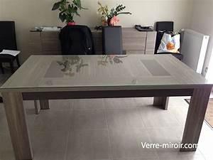 Film Protection Table En Verre : verre securit pour table table de lit ~ Dailycaller-alerts.com Idées de Décoration