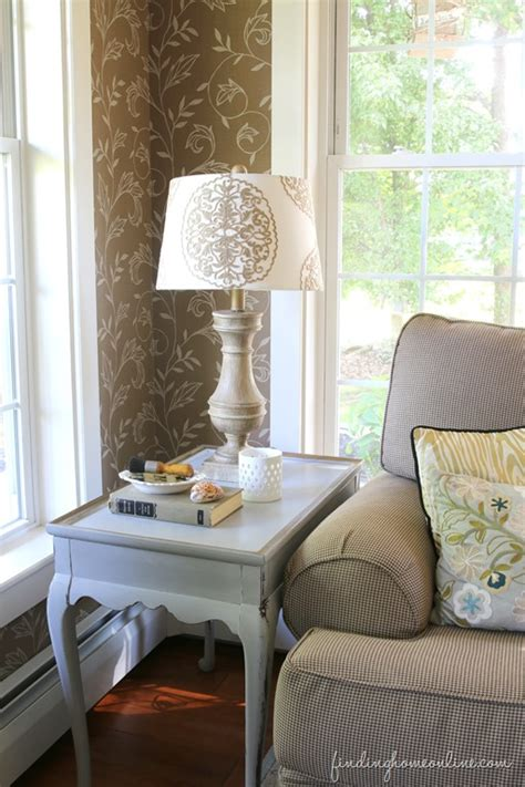 living room side table decor 10 minute quick easy decorating side table makeover