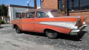 Chevrolet Bel Air 1957 : fuelie 1957 chevy bel air barn find ~ Medecine-chirurgie-esthetiques.com Avis de Voitures
