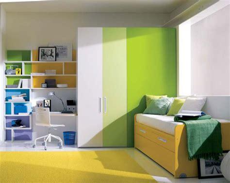 Double Color Wardrobe Designs For Kid Bedroom Decorating
