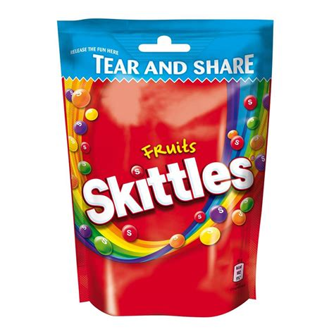 skittles share bag  sweets confectionery